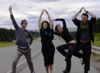 Wanderdude (Markus), Anny, Alexandra