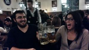 obligatory beer hall visit