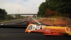 German roadtrip junk food